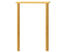 Softwood Door Casing (838mm x 138mm)