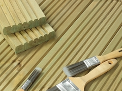 Cut To Size - Standard Redwood Decking (120mm x 28mm)