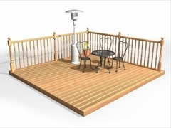 Cut To Size Deck Kit
