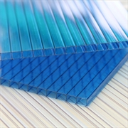Blue 6mm Twinwall Polycabonate Sheets