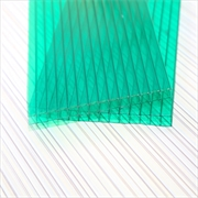 Green 6mm Twinwall Polycabonate Sheets