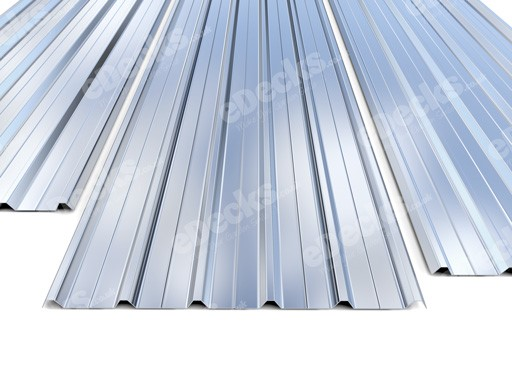 Galvanised Box Profile 0.5mm Roofing Sheets