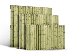 Featheredge Vertical Lap (Heavy) Panels