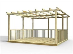 Standard Decking Kits Including Pergolas