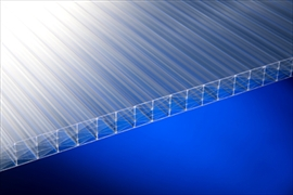 Clear 25mm Fivewall Polycarbonate Sheets