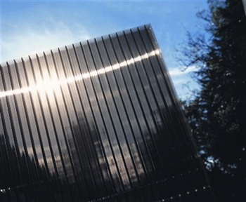 Bronze 25mm Fivewall Polycarbonate Sheets