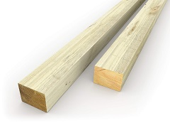 "4""x3"" Fence Posts"