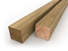 "6""x6"" Fence Posts"