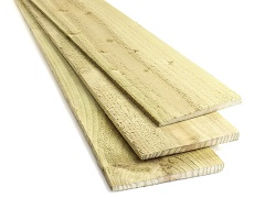 Featheredge Board - Green