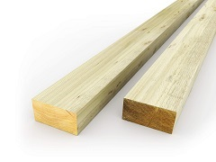 "6""x3"" Fence Posts"