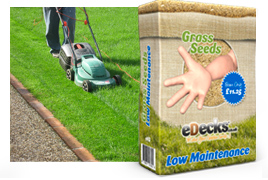 eDecks Low Maintenance Grass Seed