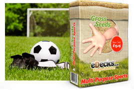 eDecks Multi-Purpose Sports Pitch Mixtures