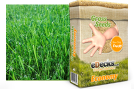 eDecks Economy Grass Seed