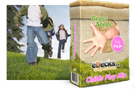 eDecks Childs Play Lawn Seed
