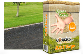 eDecks D.O.T Road Verge Grass Seed