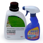eDecks Grass Feed and Weed Killer