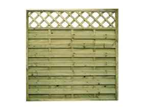 Horizontal Lattice Top Panels