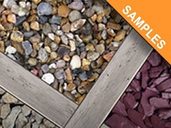 Decorative Aggregate And Gravel Samples