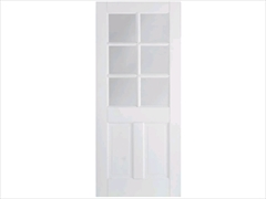 Solid White Primed Doors