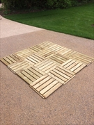 Softwood Decking Tiles
