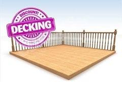 Reject decking boards cheap decking edecks for Cheap decking kits sale