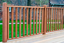 Hardwood Rail Systems