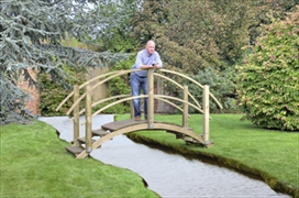 Decorative Garden Bridges