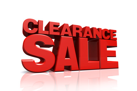 Products On Clearance